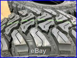 2 New Accelera M/T-01 LT 235/75R15 Load C 6 Ply MT Mud Tires