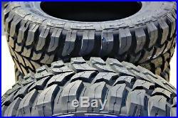 2 New Crosswind M/T LT 33X12.50R22 Load E 10 Ply MT Mud Tires