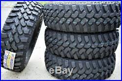 2 New Forceum M/T 08 LT 235/75R15 Load C 6 Ply MT Mud Tires