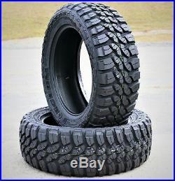 2 New Forceum M/T 08 Plus LT 235/75R15 LT 235/75R15 Load C 6 Ply MT Mud Tires