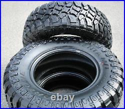 2 New Fortune Tormenta M/T FSR310 LT 265/70R17 Load E 10 Ply MT Mud Tires