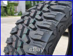 2 New Haida Mud Champ HD868 LT 33X12.50R22 114Q Load E 10 Ply M/T Mud Tires