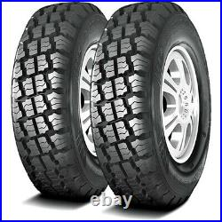 2 New Haida Puma HD818 LT 215/75R15 Load D 8 Ply MT M/T Mud Tires