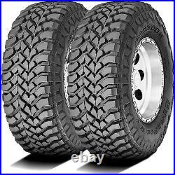 2 New Hankook Dynapro MT LT 245/75R16 Load E 10 Ply M/T Mud Tires