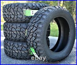 2 New Lanvigator Catchfors M/T II LT 35X12.50R22 Load E 10 Ply MT Mud Tires