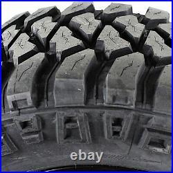 2 New Mickey Thompson Baja MTZP3 LT 33X12.50R15 Load C 6 Ply M/T Mud Tires