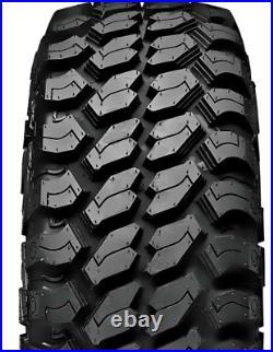 2 Tires Achilles Desert Hawk XMT LT 33X12.50R15 Load C 6 Ply (OWL) M/T Mud