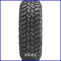 2 Tires General Grabber X3 LT 33X10.50R15 Load C 6 Ply MT M/T Mud