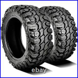 2 Tires Gladiator X-Comp M/T LT 265/75R16 Load E 10 Ply MT Mud