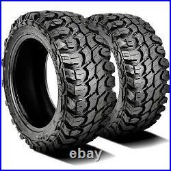 2 Tires Gladiator X-Comp M/T LT 37X13.50R24 Load F 12 Ply MT Mud