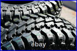 2 Tires Radar Renegade R5 M/T LT 265/70R17 Load E 10 Ply MT Mud