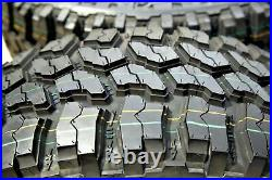 2 Tires Thunderer Trac Grip M/T LT 275/65R18 Load E 10 Ply MT Mud