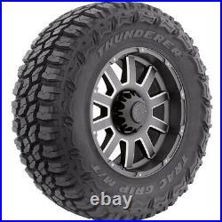 2 Tires Thunderer Trac Grip M/T LT 35X12.50R20 Load F 12 Ply MT Mud