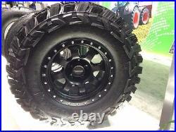 35x12.50X20 set of 6 GLADIATOR XCOMP MUD TIRES NEW 10 PLY E LOAD 35x12.50R20