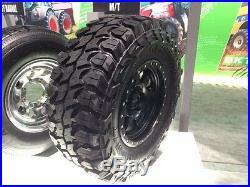 35x12.50X22 GLADIATOR XCOMP MUD TIRES NEW 10 PLY E LOAD 35x12.50R22 RAISE LETTER