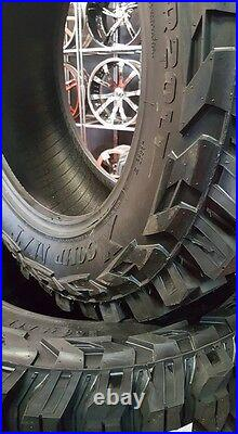 37x13.50X26 GLADIATOR XCOMP MUD TIRES NEW 10 PLY E LOAD 37x13.50R26 RAISE LETTER