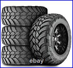 4 AMP Mud Terrain Attack M/T A LT 285/55R20 Load E 10 Ply MT Mud Tires