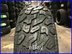 4 APlus A939 MT Tires LT35x12.50R20 35125020 New 10ply Mud Terrain Load Range E