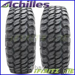 4 Achilles Desert Hawk X-MT 30X9.50R15 Mud Tires, 6 Ply C Load, 114Q, New