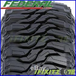 4 Federal XPLORA MT LT 33x12.50R20 119Q Load F/12Ply Mud Tires