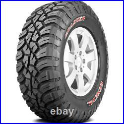 4 General Grabber X3 LT 35X12.50R17 Load E 10 Ply (SRL) MT M/T Mud Tires