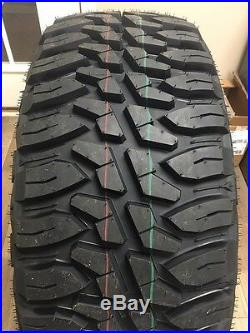 4 HAIDA MT HD868 TIRES LT35x12.50R24 R24 35125024 Mud Champ 10ply Load Range E