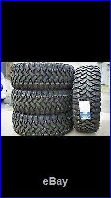 4 New 33x12.50r24 Comforser MT Load E 10 Ply 33125024 Mud Tire Quiet On Highway