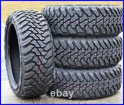 4 New Accelera M/T-01 LT 33X12.50R20 Load E 10 Ply MT Mud Tires