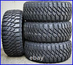 4 New Atlas Paraller M/T LT 37X12.50R17 Load D 8 Ply MT Mud Tires