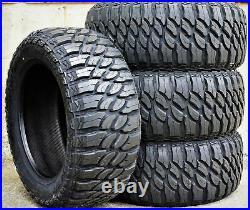 4 New Atlas Paraller M/T LT 40X14.50R20 Load D 8 Ply MT Mud Tires