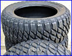 4 New Atlas Tire Paraller M/T LT 40X13.50R17 Load D 8 Ply MT Mud Tires