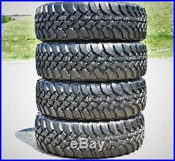4 New Bridgestone Dueler M/T 673 LT 285/75R16 Load C 6 Ply MT Mud Tires