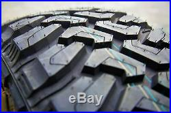 4 New Centennial Dirt Commander M/T LT 275/70R18 Load E 10 Ply MT Mud Tires