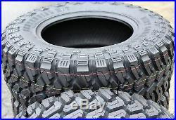 4 New Centennial Dirt Commander M/T LT 33X12.50R18 Load F 12 Ply MT Mud Tires