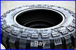 4 New Centennial Dirt Commander M/T LT 37X12.50R20 Load F 12 Ply MT Mud Tires