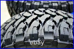 4 New Comforser CF3000 LT 37X12.50R17 Load D 8 Ply MT M/T Mud Tires