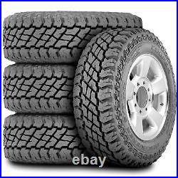 4 New Cooper Discoverer S/T Maxx LT 255/75R17 Load C 6 Ply MT M/T Mud Tires