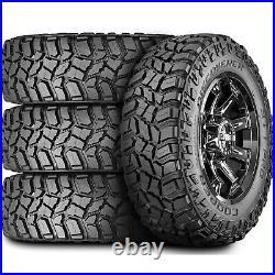 4 New Cooper Discoverer STT Pro LT 295/60R20 Load E 10 Ply MT M/T Mud Tires