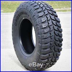 4 New Crosswind M/T LT 35X12.50R18 Load E 10 Ply MT Mud Tires