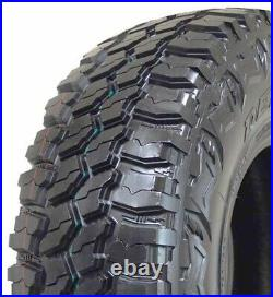 4 New Deestone Mud Clawer R408 LT 33X12.50R20 Load E 10 Ply MT M/T Mud Tires