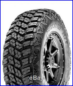 4 New Delium Terra Raider M/T KU-255 LT 265/60R20 Load E 10 Ply MT Mud Tires