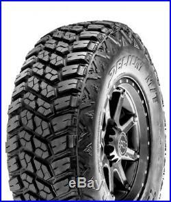 4 New Delium Terra Raider M/T KU-255 LT 265/70R18 Load E 10 Ply MT Mud Tires