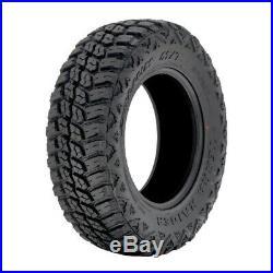 4 New Delium Terra Raider M/T KU-255 LT 35X12.50R17 Load E 10 Ply MT Mud Tires