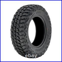 4 New Delium Terra Raider M/T KU-255 LT 37X12.50R17 Load E 10 Ply MT Mud Tires
