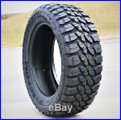 4 New Forceum M/T 08 Plus LT 275/55R20 Load D 8 Ply MT Mud Tires