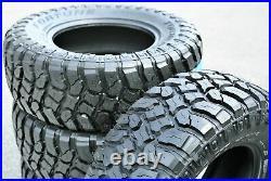 4 New Fortune Tormenta M/T FSR310 LT 31X10.50R15 Load C 6 Ply MT Mud Tires