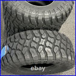 4 New Fortune Tormenta M/T FSR310 LT 33X12.50R15 Load C 6 Ply MT Mud Tires