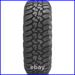 4 New General Grabber X3 LT 285/70R17 Load E 10 Ply (SRL) MT M/T Mud Tires
