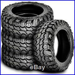 4 New Gladiator X-Comp M/T LT 265/75R16 Load E 10 Ply MT Mud Tires