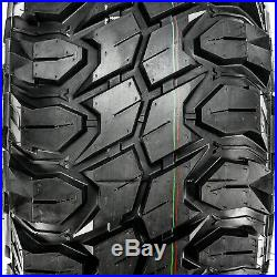 4 New Gladiator X-Comp M/T LT 33X12.50R22 Load F 12 Ply MT Mud Tires
